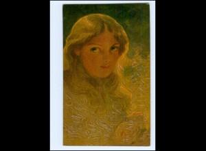 Y15048/ Degi-Gemälde AK junge Frau ca.1915