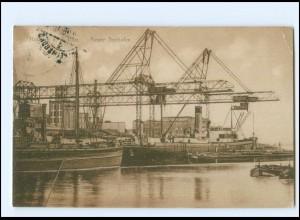 XX008761/ Hamburg Harburg Neuer Seehafen 1928 AK