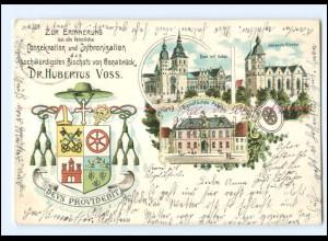 XX008806/ Osnabrück Erinnerung an die feierl. Consekration ... Litho AK 1900