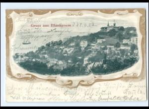 XX008793/ Hamburg Gruß aus Blankenese 1902 AK