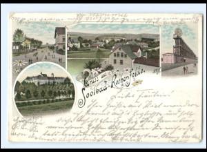 XX008750/ Gruß aus Bad Rothenfelde 1897 Litho AK