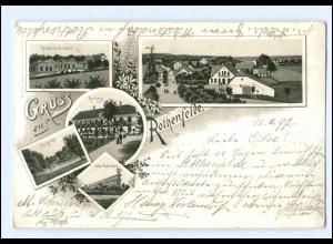XX008753/ Gruß aus Bad Rothenfelde 1897 Litho AK
