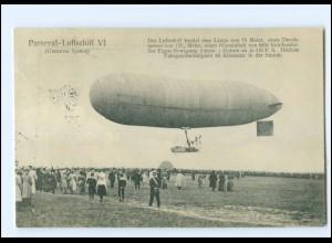 XX009029/ Parseval-Luftschiff VI Zeppelin AK 1910
