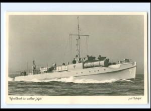 XX008957/ Torpedoboot Marine Foto AK ca.1940