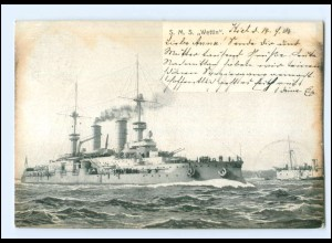 XX008967/ Kriegsschiff S.M.S. Wettin AK 1903