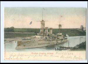 XX008965/ Kriegsschiff Kurfürst Friedrich Wilhelm Marine AK 1902