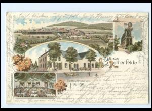 XX008760/ Gruß aus Bad Rothenfelde 1899 Litho AK