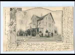 XX008740/ Bad Rothenfelde Villa Westendorf 1902 AK