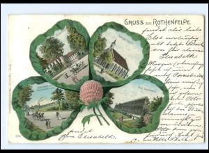 XX008990-4502/ Gruß aus Rothenfelde Kleeblatt Litho AK 1901