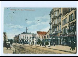 XX008776/ Hamburg Harburg Erste Wilstorferstraße 1912 AK
