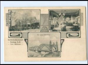 XX008769/ Hamburg Harburg Elbbrücken 1907 AK