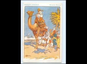 XX009018/ Croquis D`Escale Port Said Ägypten Künstler AK H. Gervese Maritim