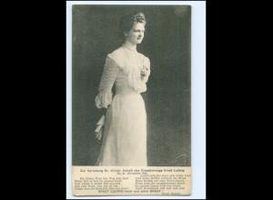 U9237/ Großherzogin Eleonore von Hessen AK 1904
