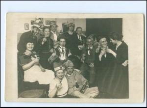 Y15126/ Karneval Fasching Foto AK ca.1925