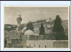 U9233/ Nazareth Palästina Foto AK 1935