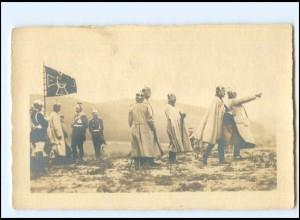 Y15255/ Kaiser Wilhelm im Felde Foto AK ca.1914