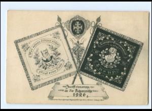 U9302/ Hamburg Lurup Turnerschaft Fahnenweihe 1926 AK