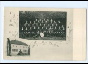 Y15484/ Studenten Erinnerung an die Präparandenzeit AK Schlüchtern 1906