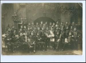 Y15491/ Studenten Studentika Foto AK 1912/13 Stempel: Bamberg