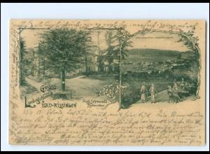 Y15249/ Bad Kissingen Gruß vom Ludwigsthurm AK 1901