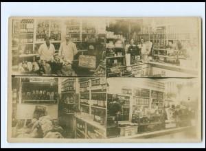 Y15483/ Geschäft Tante Emma-Laden Foto AK ca.1930