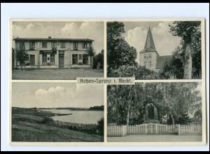 "U9323-182/ Hohen Prenz i. Meckl. Restaurant ""Zum alten Forsthof"" AK 1937"