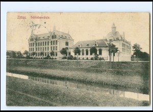 U9343-027/ Zittau Schliebenschule AK 1910