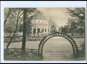 U9340/ München Ausstellung 1908 Hauptrestaurant AK