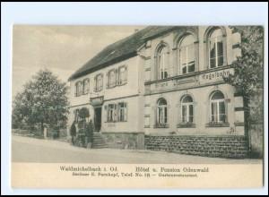 U9326-6948/ Waldmichelbach i.Od. Hotel Odenwald AK ca.1910