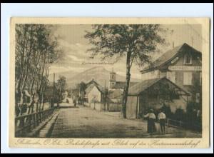 U9363/ Bollweiler Ober-Elsaß Bahnhofstraße AK 1917