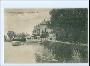 U9556-172/ Kurhaus Domjüch bei Strelitz in Meckl. Ak 1912