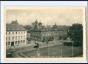 U9739/ Elbing Friedrich-Wilhelm-Platz Foto AK Ostpreußen ca. 1938