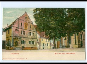 U9566-7770/ Überlingen Stadtkanzlei Reliefdruck AK ca.1900