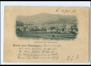 Y15369/ Gruß aus Kissingen Panorama vom Stationsberg 1896 AK