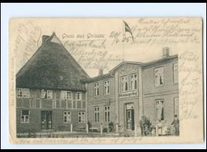 U9434-2405/ Gnissau bei Ahrensbök Oldenburger Hof AK 1905