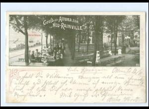 "U9626/ Hamburg Gruß aus Altona ""Neu-Rainville"" AK 1903"