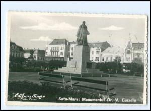 U9624/ Satu-Mare Monument Dr. V. Lucaciu Rumänien Foto AK 1940