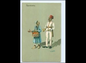 Y15222/ Ägypten Egypte Expostulation Karikatur AK 1913