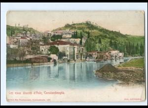 Y15219/ Constantinople Türkei Feldpost AK ca.1915