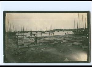 U9971/ Tsingtau China Foto 14 x 8,5 cm ca. 1920