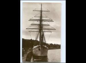 U9722/ Segelschulschiff Niobe Foto AK ca.1928