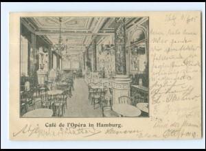 U9395/ Hamburg Cafe de l`Opera AK 1905