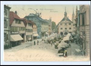 U9399/ Bad Kissingen Marktplatz AK 1902