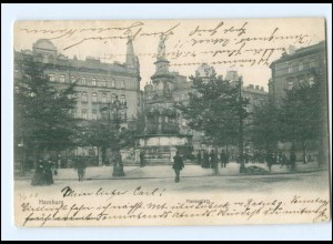 U9400/ Hamburg St. Georg Hansaplatz AK 1903