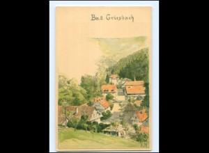 Y15165/ Bad Griesbach Litho AK Verlag: Velten ca.1900