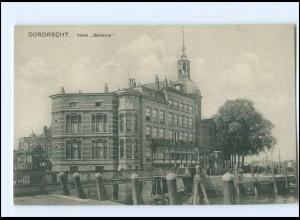 Y15171/ Dordrecht Heotel Bellevue AK Niederlande ca.1910