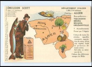 Y15174/ Alger Algerien Emuslion Scott Reklame Werbung AK ca.1930