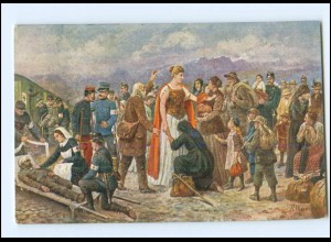 Y15182/ L`Helvetia Charitable Militär 1915 Schweiz