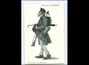 Y15500/ Types de Landsturm Schweiz AK ca.1915