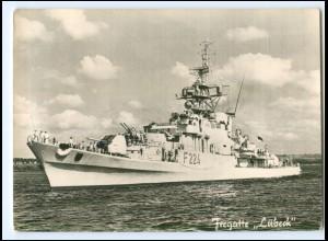 U9545/ Bundeswehr Marine Fregatte Lübeck AK ca.1965